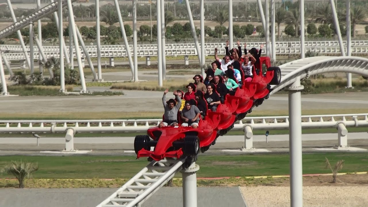 Alonso Ferrari World Ferrari World Abu Dhabi 2012