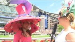 Bryony Gordon's Hats at Royal Ascot Ladies Day