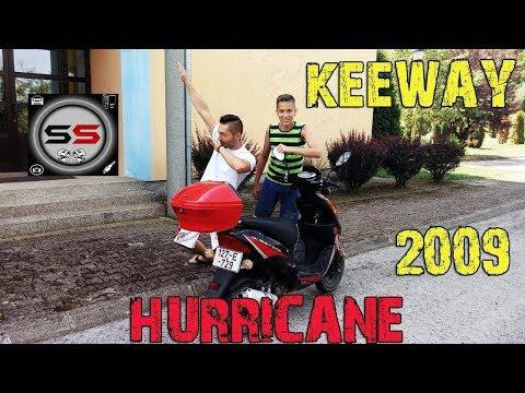 KEEWAY HURRICANE - TEST - REVIEW