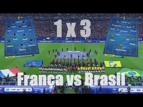 França vs Brasil - Jogo Completo - 26.03.2015 - FULL HD