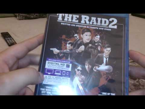 The Raid 2 blu-ray unboxing and giveaway
