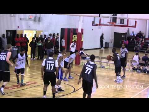 "Team10 #117 Jaime Johnson, 5'10"" 180lbs, 2014 Greenfield School NC"