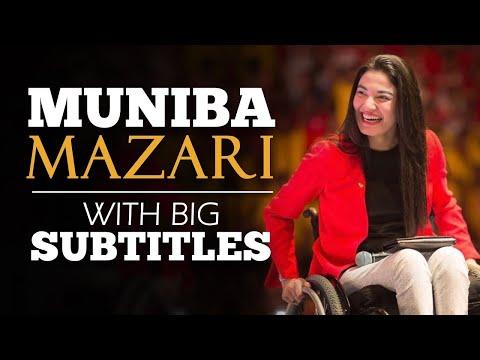 LEARN ENGLISH   MUNIBA MAZARI - We all are Perfectly Imperfect (English Subtitles)