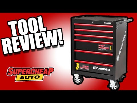 ToolPRO Tool Chest Cabinet REVIEW