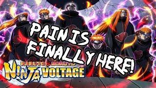 Tendo Pain is HERE, Summons better drop rates? & KIT Preview! | Naruto X Boruto Ninja Voltage