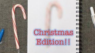 I TRIED FOLLOWING A SUPERRAEDIZZLE TUTORIAL: CHRISTMAS EDITION