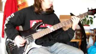 Iron Maiden - Losfer Words (Big orra) bass cover