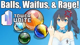 More Anime Waifu Rage! Tower Unite Ball Race #4