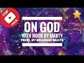 Lil Bizzy x Trae x MGK type beat Buy Rap Beats 'On God' Instrumental with Hook by Brainiac Beats -