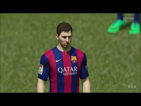 Fifa 15 - Fc Barcelona Vs Chelsea Gameplay [hd] video