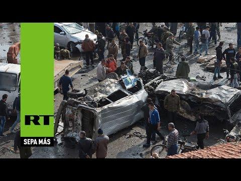 Un doble atentado en la ciudad siria de Homs deja decenas de muertos