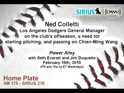 Ned Colletti, LAD GM, on offseason, Chien-Ming Wang - Sirius|XM