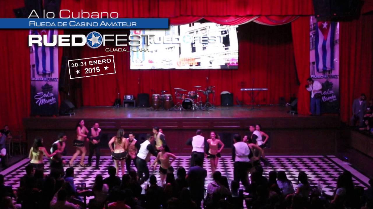A lo Cubano | Rueda de Casino Amateur | Ruedafest 2016 | Guadalajara