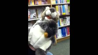 Funny Squirrel Puppet