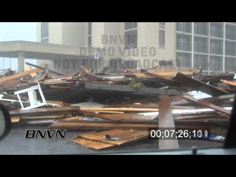 Hurricane Ike Video, Galveston, Texas - Part 5