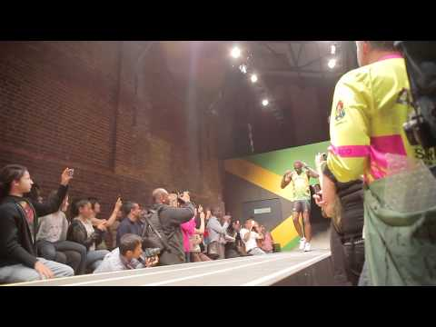 SBTV: Usain Bolt Puma Fashion Show | Cedella Marley