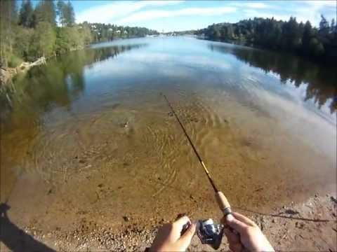 Fishing lake gregory 5 12 2012 youtube for Lake gregory fishing report