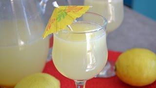 La citronnade maison /lemonade recipe/ عصير الليمون/mayaencuisine