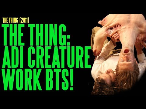 The Thing, Showing The Work Of The Final Creations On Set