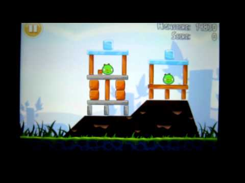 Angry Birds Lite Gameplay