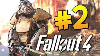 Прохождение Fallout 4 - Силовая Броня! #2 (60 FPS)
