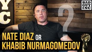 Who should Conor McGregor fight next? Nate Diaz or Khabib Nurmagomedov...