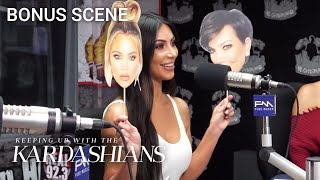 "Kim Kardashian Plays ""Kreeping Up With the Kardashians"" With Big Boy 