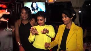 "Ethiopian having fun ""EXTRAVAGANZA EVENT LUCY'S ETHIOPIAN RESTAURANT & BAR"""