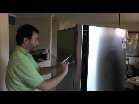How To Turn A White Fridge Into Stainless Steel  DIY Reviews!