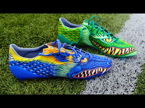 Testing the UGLIEST Boots EVER? adidas F50