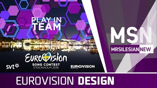 2016 Eurovision Song Contest design: My first impressions