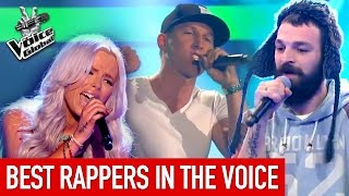 The Voice | BEST RAP Blind Auditions worldwide