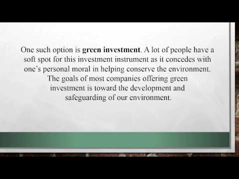 Green Investments Is the Best for Retirement Planning