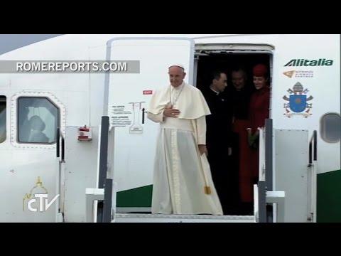 ¡El Papa Francisco ya está en Cracovia!