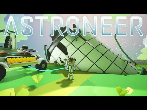 Astroneer - Ep 4 - Crash Site and Portable Generator! - Let's Play Astroneer Gameplay