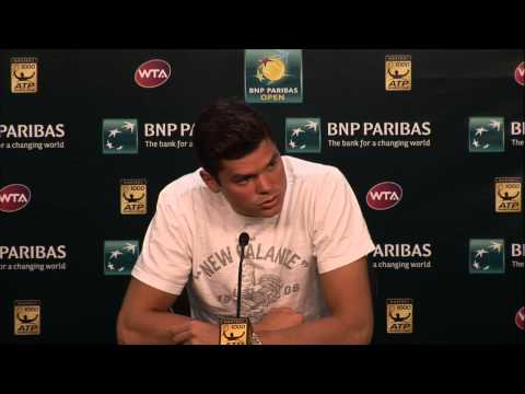 BNP Paribas Open: Milos Raonic Fourth Round Press Conference
