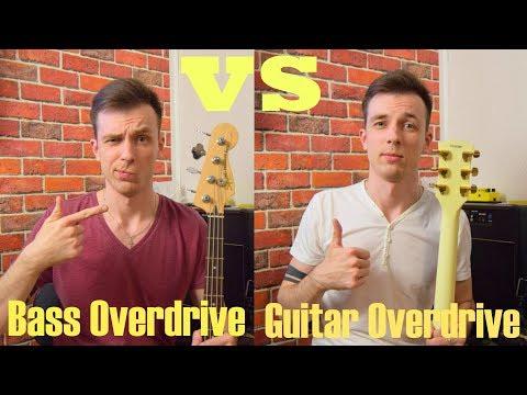 Бас против Гитарного перегруза! ODB-3 vs SD-1