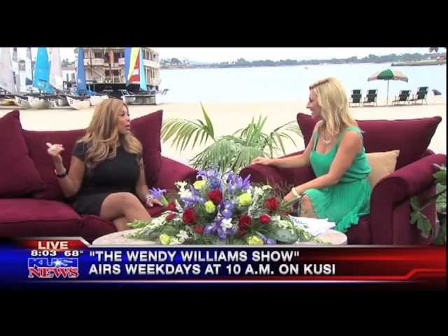 KUSI with Wendy Williams at the Catamaran Resort and Spa