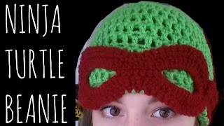 Ninja Turtle Beanie | Crochet Pattern | Character Creation Tutorial