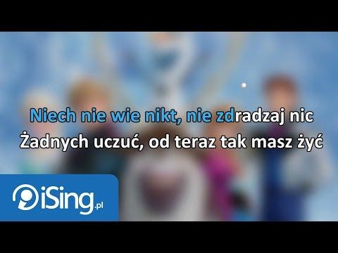 Kraina Lodu - Mam Tę Moc (tekst + Karaoke ISing.pl)