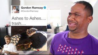 Gordon Ramsay ROAST Twitter Chefs AGAIN!!  (PT 2) | Alonzo Lerone