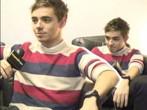 Hilarious: The Wanted's Nathan Sykes does impressions of his bandmates