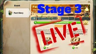 Lost Kingdom Crusader Fortress Rebuilding! Past Glory Stage 3 Live! Rise of Kingdoms