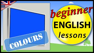 Colours in English, Beginner English Lessons for Children