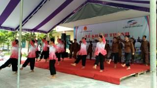 Dân vũ Bắc Kim Thang - Trống Cơm - Rửa Tay [9A Trường THCS Gio Mai]