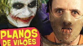 6 MELHORES PLANOS DE VILÕES DO CINEMA!
