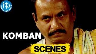 Komban Movie || Super Subbarayan, Raja Simman Scene