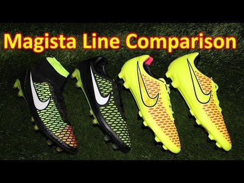 Nike Magista Obra vs Opus vs Orden vs Onda - Line Comparison + Review