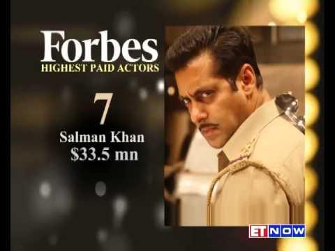 Forbes' Top 10 Paid Actors List Includes Amitabh Bachchan, Salman Khan & Akshay Kumar