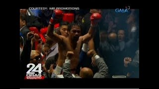 24 Oras: Manny Pacquiao, wagi via TKO kay Lucas Matthysse
